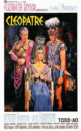 Affiche Cléopâtre (1963)
