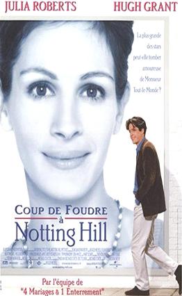 Affiche Coup de foudre à Notting Hill (1999)