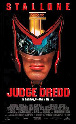 Affiche Judge Dredd (1995)