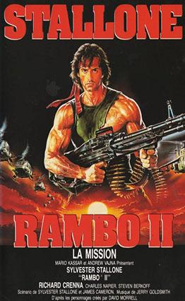 Affiche Rambo 2 : La Mission