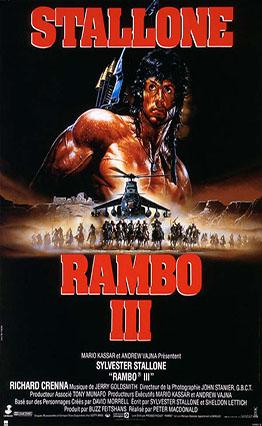 Affiche Rambo III (1988)