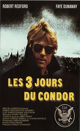 Affiche Les Trois Jours du Condor