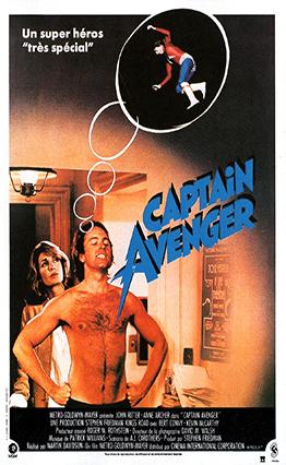 Affiche Captain Avenger (1980).
