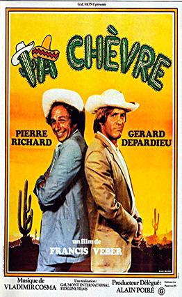 Affiche de La chèvre (1981).