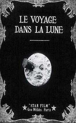 Affiche Le voyage dans la lune (1902).