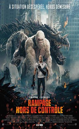 Affiche Rampage - Hors de contrôle (2018).