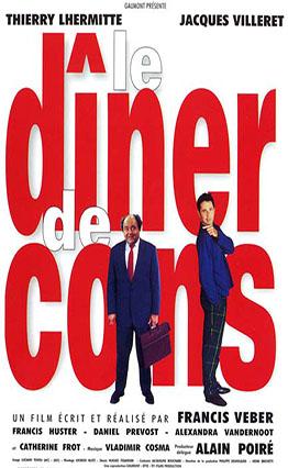 Affiche Le dîner de cons (1998).