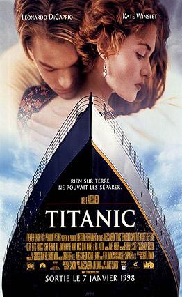 Affiche Titanic (1997).