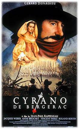 Affiche de Cyrano de Bergerac (1990).