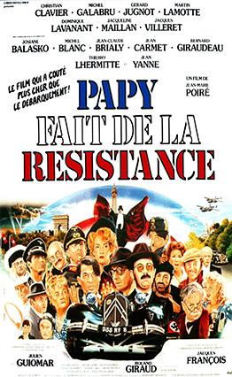 Affiche Papy fait de la résistance (1983).