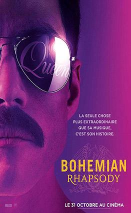 Affiche Bohemian Rhapsody.