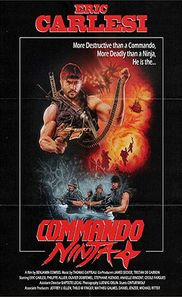 Affiche Commando Ninja (2018).
