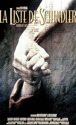Affiche La liste de Schindler (1993)