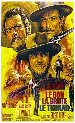 Affiche Le Bon, la Brute et le Truand (1966)