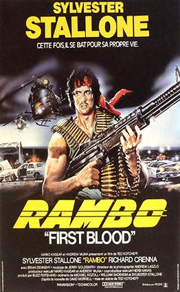 Affiche Rambo (1982)