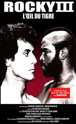 Affiche Rocky III: L'Œil du tigre (1982)