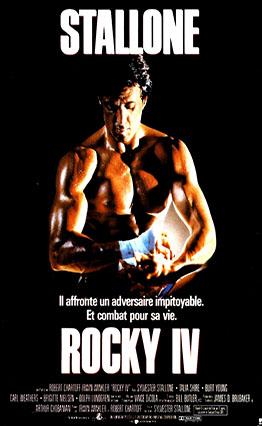 Affiche Rocky IV (1985)