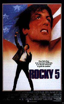 Affiche Rocky V (1990)
