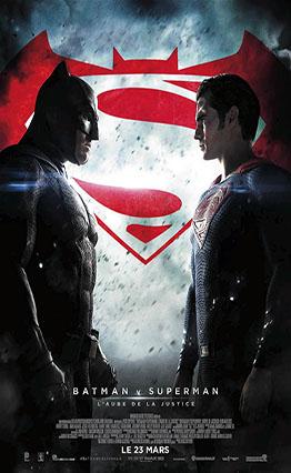 Affiche Batman v Superman L'aube de la justice (2016)