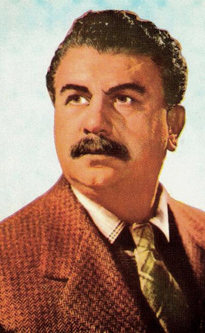 Gino Cervi acteur.