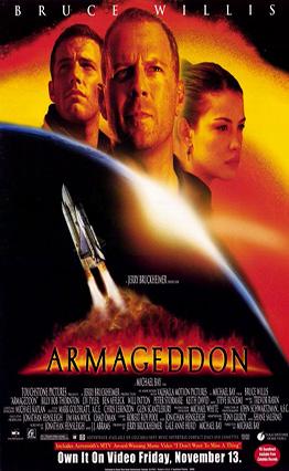 Affiche Armageddon (1998)