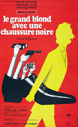 Affiche Le grand blond avec une chaussure noire (1972)