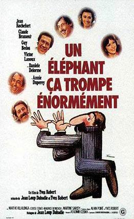 Affiche de Un éléphant ça trompe énormément (1976)