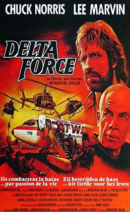 Affiche Delta Force (1986)