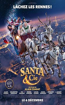 Affiche Santa & Cie (2017).