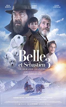 Affiche Belle et Sébastien 3, le dernier chapitre (2017).