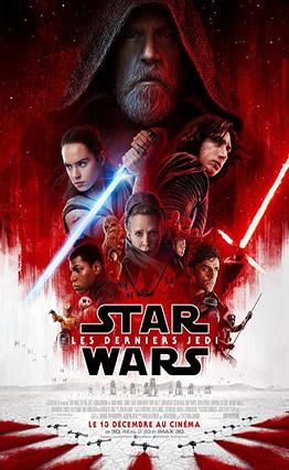 Affiche Star Wars Episode VIII - Les derniers Jedi (2017)