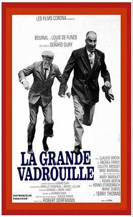 Affiche La grande vadrouille (1966).