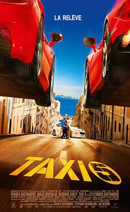 Affiche Taxi 5 (2018).
