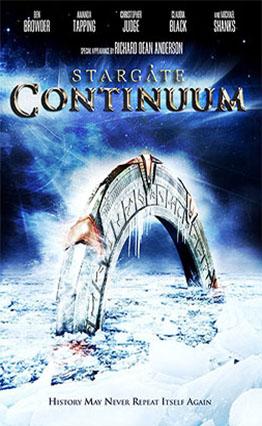 Affiche Stargate: Continuum (2008).