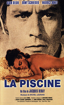 Affiche La piscine (1969).