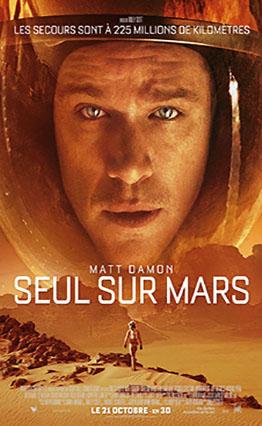 Affiche Seul sur Mars (2015).