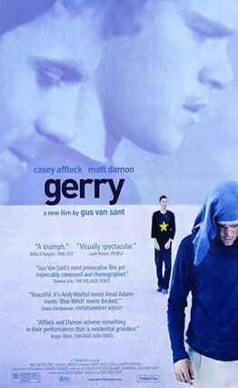Affiche Gerry (2002).