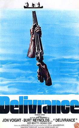 Affiche Délivrance (1972).