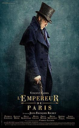 Affiche L'Empereur de Paris (2018).