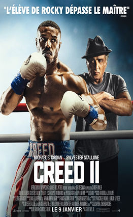 Affiche de Creed 2 (2018).