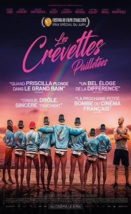 Affiche Les crevettes pailletées (2019).