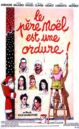 Affiche Le père Noël est une ordure (1982).