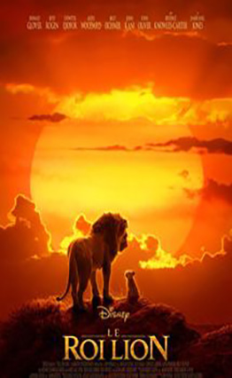 Affiche Le Roi Lion (2019).