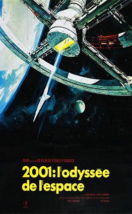 Affiche 2001, l'odyssée de l'espace (1968).
