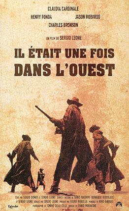 Affiche Il était une fois dans l'Ouest (1968).