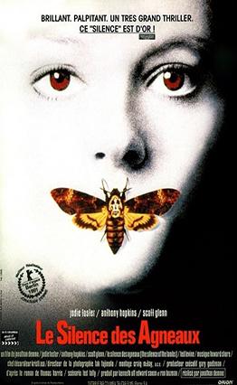 Affiche Le silence des agneaux (1991).
