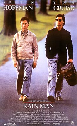 Affiche Rain Man (1988).