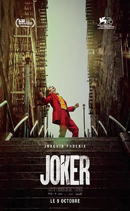 Affiche Joker (2019).