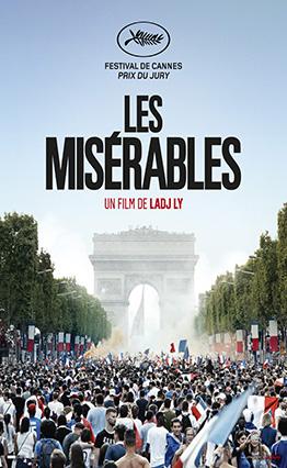 Affiche Les misérables (2019).