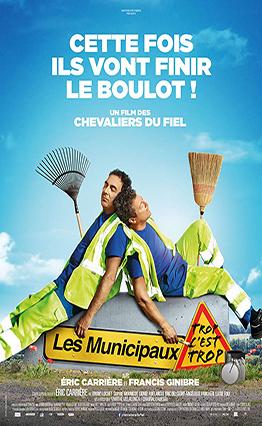 Affiche Les municipaux: Trop c'est trop (2019).